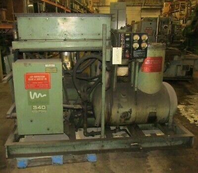 75 Hp Screw Compressor Twistair Model Ta0340baaa4e 3728lr