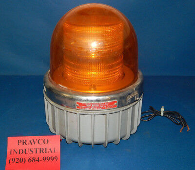 Commander Federal Signal 371dst Amber Warning Strobe 120volt .35amp Series A1