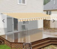 WANTED awning installation