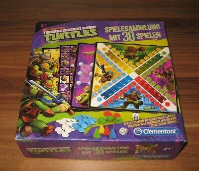 Teenage Mutant Ninja Turtles - Spielesammlung mit 30 Spielen Clementoni 2013 Rar