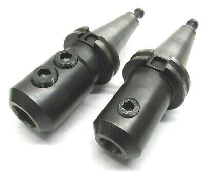 Parlec 34 Sandvik 1 Cat40 Endmill Toolholders