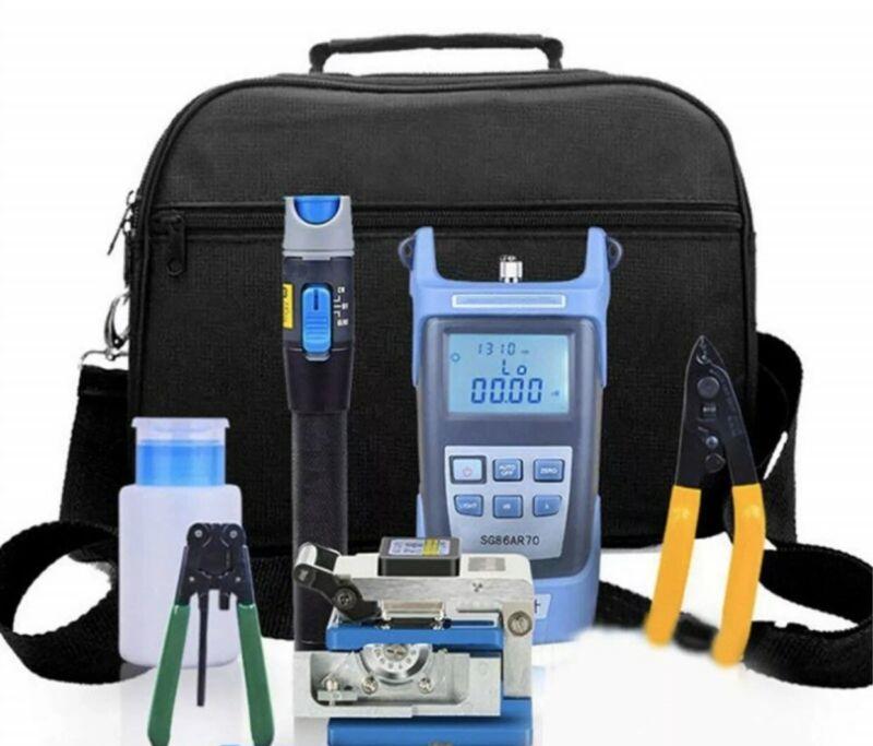 FTTH Fiber Optic Tool Kit Assembly Fiber Termination Splitter Tools Electrical