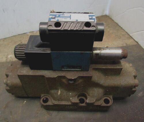 MILLER FLUID POWER DIRECTIONAL CONTROL VALVE 583-D8E-507 3000PSI 115VAC