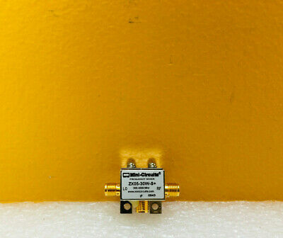 Mini-circuits Zx05-30w-s 300 To 4000 Mhz Sma F Coaxial Frequency Mixer Tested