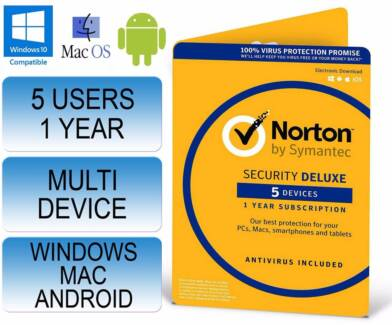 Norton Internet Security Premium - 5 Users