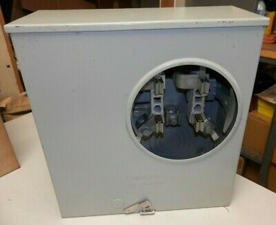 Siemens 4 Jaw Meter Socket 200 Amp 600 Vac 1ph 3 Wire Residential Uas877-ppgp