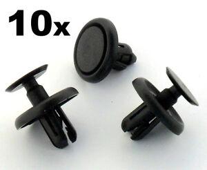10x Plastique Clips Garniture Toyota Passage De Roue