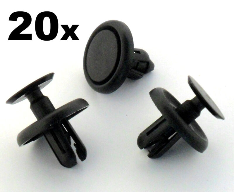 20x Lexus Plastic Trim Clips Wheel Arch Inner Wing Lining, Engine Shields Cover