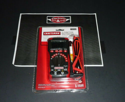 Craftsman  3482008  34-82008  - Craftsman Multimeters  11 FUNCTION MULIMETER