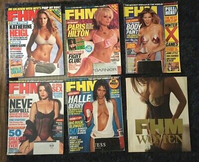 Lot Of 6 Fhm Magazine 2004 issues 40, 41, 42, 50, 58 and FHM Women Book