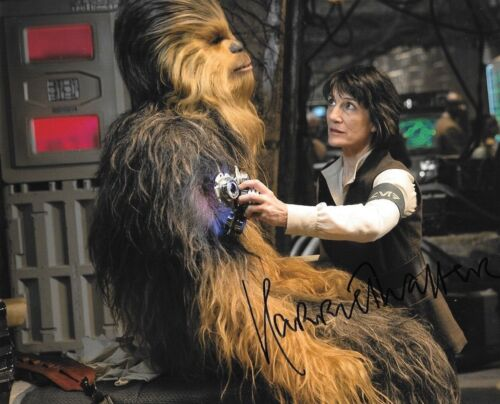 * HARRIET WALTER * signed autographed 8x10 photo * STAR WARS: FORCE AWAKENS * 1