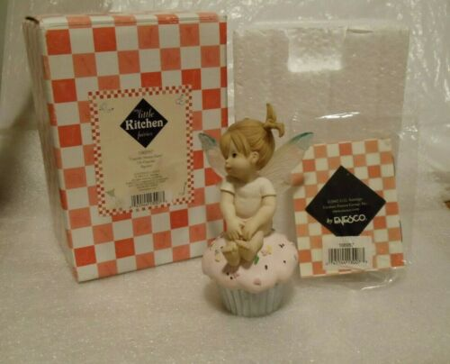 MY LITTLE KITCHEN FAIRIES -  CUPCAKE SWEETIE FAIRIE - MIB -  WITH ALL PACKAGING