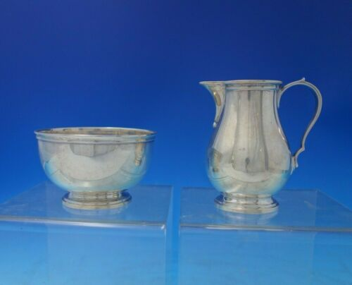 Hamilton by Tiffany and Co Sterling Silver Sugar and Creamer Set 2pc (#5362)