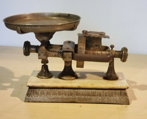 VINTAGE SCALE 1898 MICROMETER CALCULATING SCALE THE DODGE SCALE CO NEW YORK