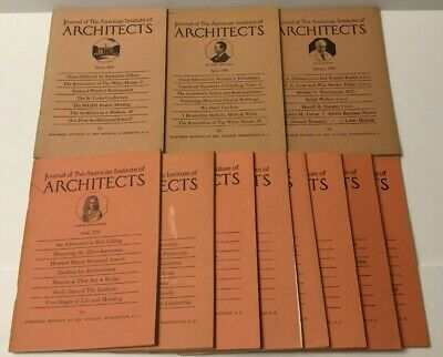 1950 1952 & 1954 JOURNAL OF THE AMERICAN INSTITUTE OF