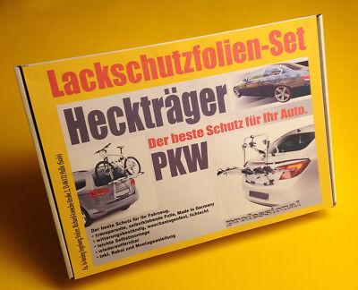 Lackschutzfolie Set universal transparent für Heckträger Fahrradträger PKW