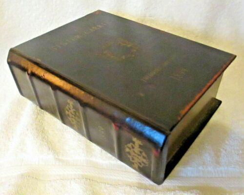 Wood Book Box Hidden Jewelry Secret Fake Faux Vintage Sister Carrie 1899 Dreiser