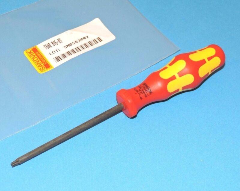 NEW Sandvik Cormant 10IP / +10IP Torx Plus Screwdriver 5680-046-05