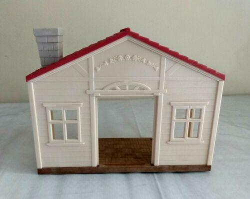 Calico Critters Replacement Part Red Roof County Home Room with Chimney CC1797