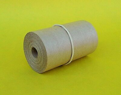 1-roll 2.75x 25 Gummed Reinforced Paper Tape. Kraft Shipping Packaging Usa