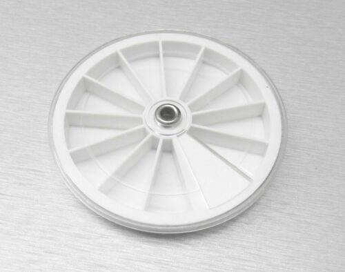 Plastic Tray Revolving Tray Round Storage Container 12 Section White Clear Cover