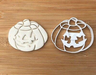 Plastic Biscuit Cookie Cutter Fondant Cake Decor Pumpkin N.3 (Halloween Cookie Cutters Uk)