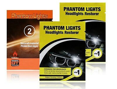 Car Headlights Cleaner Phantom Lights Granite Technology GT Restoration Cleaning