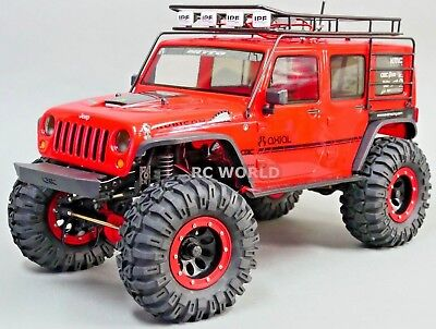 RC Axial JEEP Wrangler  METAL CAGE ROOF RACK W/ SPARE  W/ IPF LED (Rc Spare)