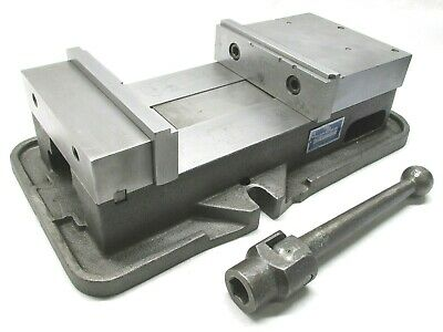 Kurt Anglock 8 Milling Machine Vise W Jaws Handle - D80