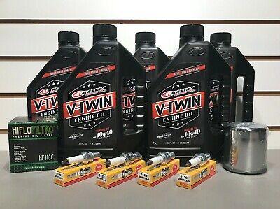 Yamaha Road Star XV1600 XV1700 Oil Change Tune Up Kit Oil Filter Spark Plugs