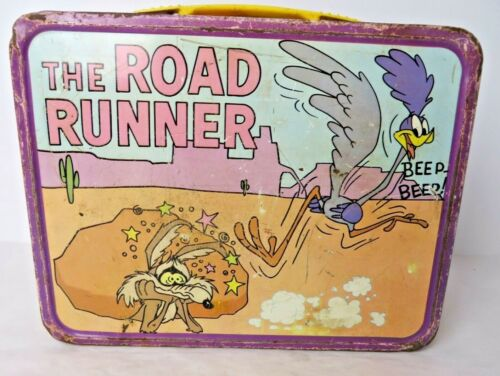 Vintage King Seeley Road Runner Lunchbox Wile E Coyote Warner Brothers #10427