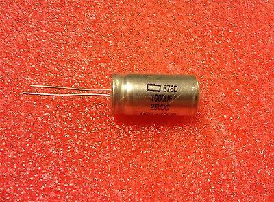 1000µF 1pcs-NIPPON 1000uF 50V 678D Radial Electrolytic Capacitor