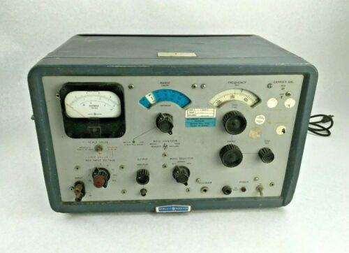 Vintage 1964 Hewlett Packard HP 302A Wave Analyzer 20Hz - 50KHz