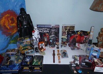 Star Wars Bobble Heads Boba Fett , Han Solo ,  figure JAR JAR BINKS ()
