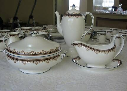 Wedgwood  Bone China Dinner Service for 8 plus Accessories