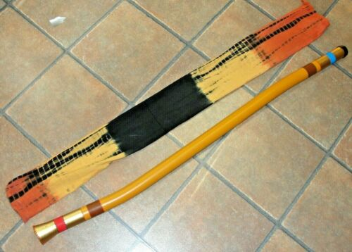 Didgeridoo Dot-Painted, Strong Sound, Light-Weight, Easy to Play PVC 47""