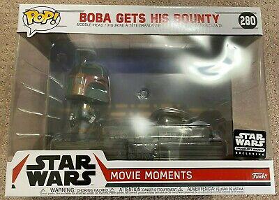 Pop! Star Wars Movie Moments #280 Boba Gets His Bounty Smuggler's NEW