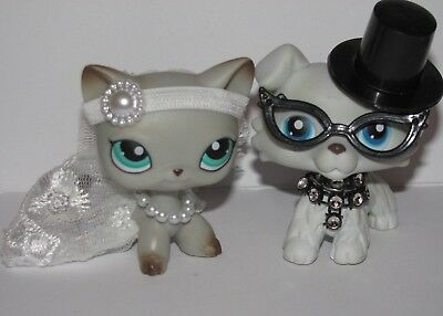 💞Littlest Pet Shop clothes lps accessories wedding set  *CAT DOG NOT INCLUDED - Childrens Clothes Shops