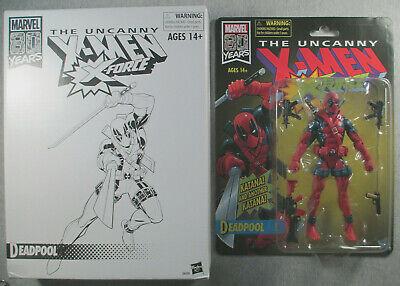 "Deadpool - Sealed 6"" series figure - Marvel Legends Uncanny X-Men - 80th Vintage"