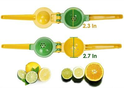Quality Metal (Lemon Squeezer Premium Quality Metal Lime Juicer Manual Citrus Press Hand Tool )