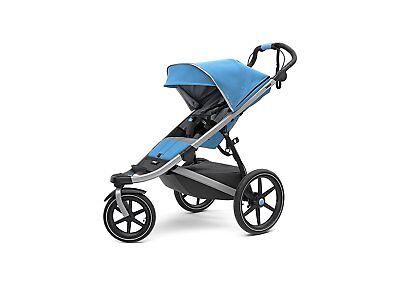 Thule Urban Glide 2.0 Jogging Stroller (Blue w/ Silver Frame)