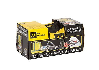 AA Car Essentials Emergency Winter Car Breakdown Kit