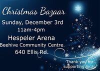 Christmas Bazaar - December 3rd