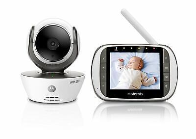 Motorola MBP853CONNECT Video Baby Monitor 3.5 Screen Wi-Fi Smartphone Hubble App