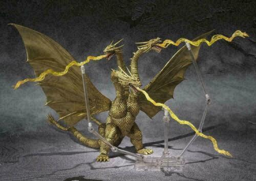 Bandai S.H.MonsterArts Godzilla King Ghidorah Movie Original Ver. Thunder Beam