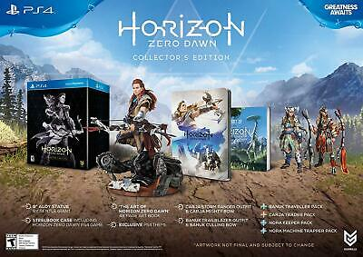 Horizon: Zero Dawn Collectors Edition PS4 Playstation 4 Brand New Factory (Horizon Zero Dawn Playstation 4 Collectors Edition)