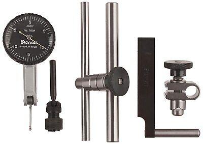 Starrett 709acz Dial Test Indicator With Dovetail Mount .030 Range .0005