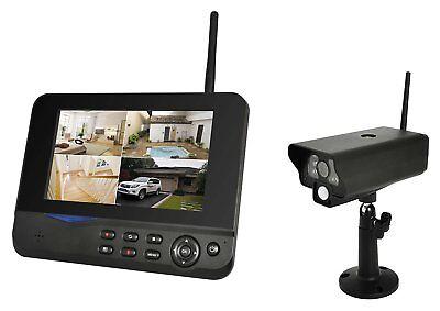 Comag SecCam11 Videoüberwachung Funk-Überwachungssystem mit 1 Kamera IP54 System