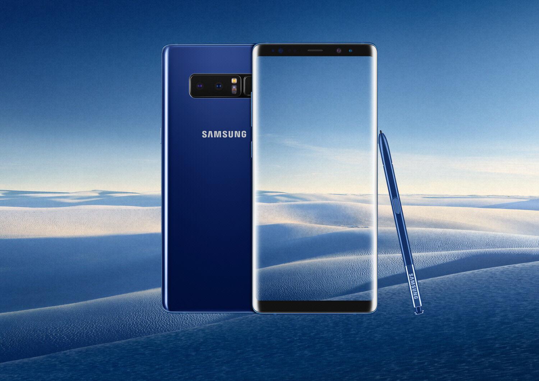 New-Samsung Galaxy Note8 SM-N950U - 64GB - Black/Blue/Gray (UNLOCKED) Smartphone