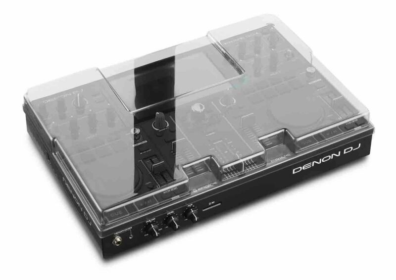 Decksaver DS-PC-PRIMEGO Protection Cover for Denon DJ Prime Go DJ Controller